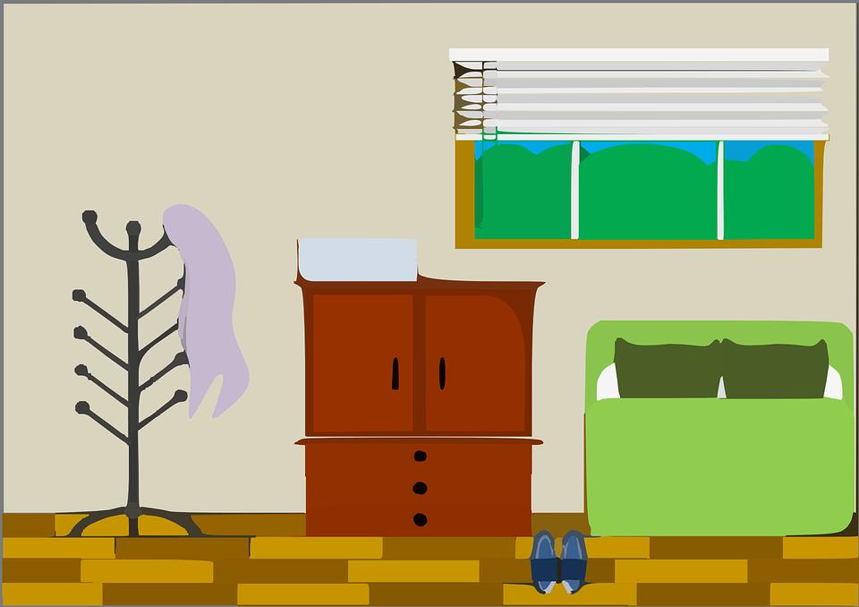 Zastaralý interiér