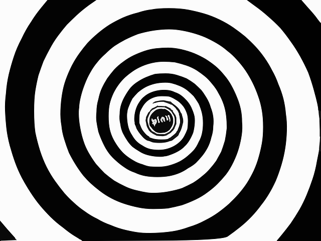 spirála na hypnózu