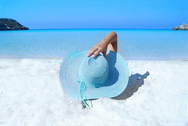 beach klobouk