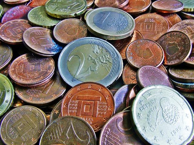 použité mince