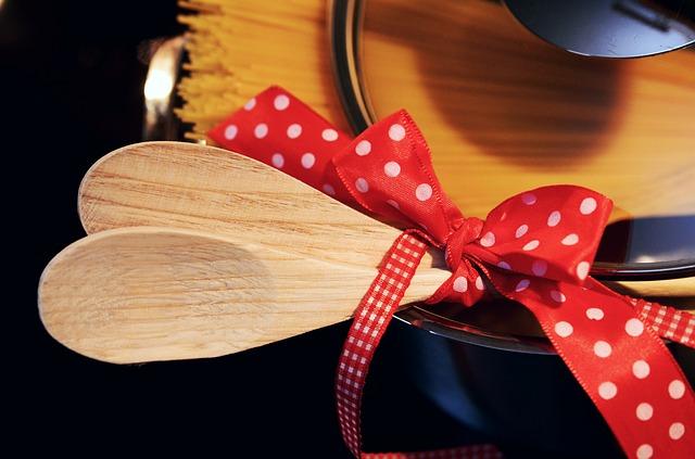 vařečky s mašlí