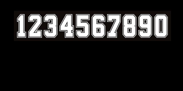 řada čísel
