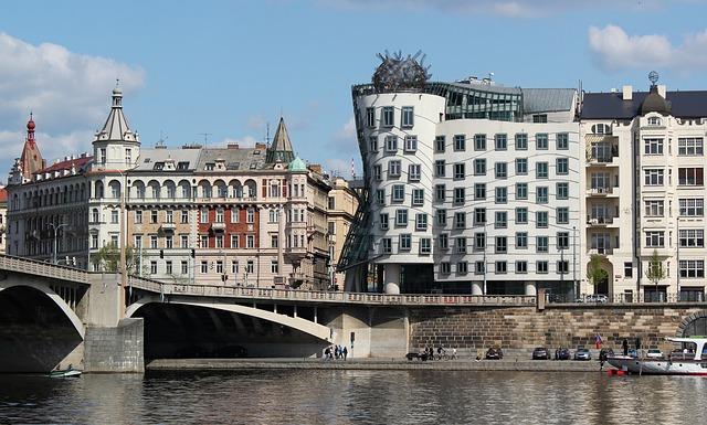 Praha, Tančící dům