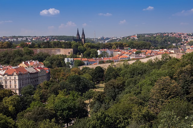 pražské panoráma, Vyšehrad